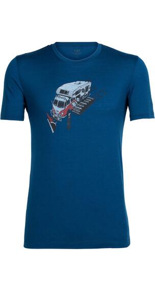 Icebreaker Tech Lite t-shirt blauw